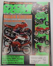 Cycle World Magazine Honda NR750 Suzuki Goose 350 February 1992 011315R