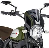 PUIG 7652F Naked Bike Windscreens Dark Smoke Sport