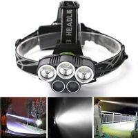 90000LM 5X XM-L T6 LED Headlamp Head Light Flashlight Rechargeable Torch Lamp CZ