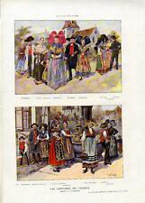 Paul Koffmann - Les Costumes de l'ALSACE