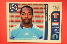 PANINI CHAMPIONS LEAGUE 2011/12 N. 244 VERMEER AJAX WITH BACK BACK MINT!!