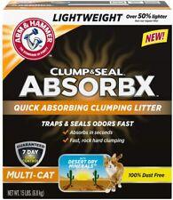 Arm & Hammer Clump & Seal AbsorbX Clumping Litter