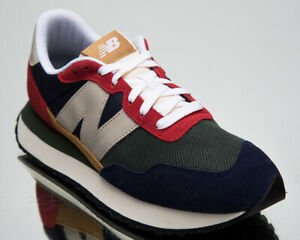 New Balance 237 Men's Red Pigment Athletic Low Casual Lifestyle Sneakers Shoes