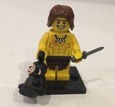 Genuine LEGO minifigura serie 7 Jungle Boy * Completo *