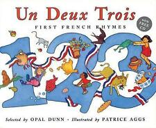 Un Deux Trois: First French Rhymes (French Edition)-ExLibrary