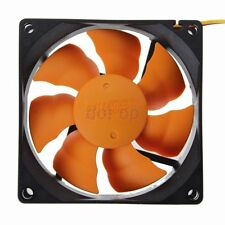 Ultra Quiet 12V 8cm 80mm 80x80x25mm Brushless PC CPU Lüfter cooling fan 3P+4P