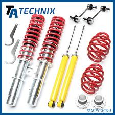 TA-Technix Alta Calidad Suspensión Roscada Set + 2 Barras Estabilizadoras - BMW