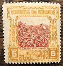 ECUADOR  1930   6c  M/Mint  (P57)