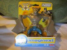 Fisher Price Imaginext Dc Super Friends Manbat New Man Bat Batman Justice League