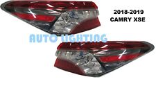 FIT TOYOTA CAMRY 2018 2019 REAR OUTER TAIL LIGHT REAR LAMP TAILLIGHT SET - XSE