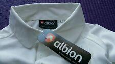 Boys / girls Cricket Shirt Childs size 10 BRAND NEW Short sleeve White