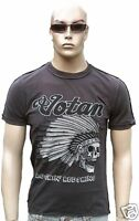 AMPLIFIED VOTAN Rockin Redskins Indian Skull Rock Star Designer ViP T-Shirt S
