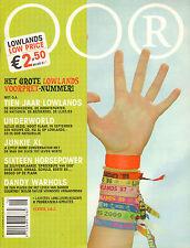MAGAZINE OOR 2002 nr. 16  -LOWLANDS SPECIAL/16 HORSEPOWER/BEEF/JUNKIE XL