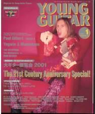 Young Guitar Jan/01 Paul Gilbert Yngwie Iron Maiden B'z Slash Motley Crue
