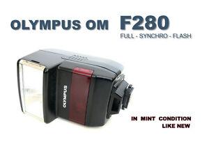 OLYMPUS OM F280 FP - TTL FULL SYNCHRO FLASH  / CO.MINT
