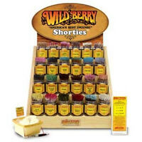 "Wildberry Mini Incense Sticks / Wildberry Shorties 4"" Pack of 100: Pick Scent"