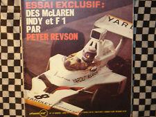 SPORT AUTO 1974 CITROEN GS BIROTOR / LANCIA BETA / MC LAREN F1 & INDY / n° 147