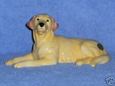 John Beswick Golden Retriever lying-mint-boxed-new-dog