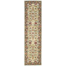 Safavieh Heritage Blue / Brown Wool Runner 2' 3 x 8'