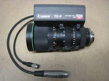 Canon TC-F CCD 12x J12x10B4 J12x10B 10-120mm 1:1.7 Macro TV Camera Zoom Lens