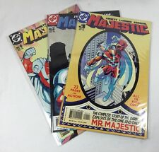 DC Mr. Majestic Comic Book Lot Of 3 Issues 1/2/4