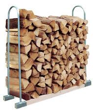 TrendLine Kaminholzstapelhilfe 150cm Höhe mit Rohrbügel Holzlager Kaminholzregal