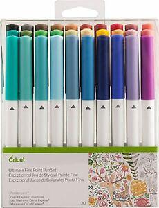 Cricut Ultimate Fine Point Pen Set 30/Pkg -2004060