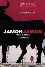 JAMON JAMON Movie POSTER 27x40 Penelope Cruz Anna Galiena Javier Bardem Stefania