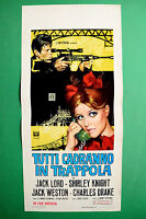 L05 Plakat Alle Wird Fallen IN Trap Jack Lord Shirley Knight Jack Weston
