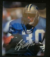 CORY SCHLESINGER DETROIT LIONS SIGNED 8x10 PHOTO w/ COA