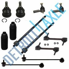 New 12pc Complete Front and Rear Suspension Kit for 2003-2008 Hyundai Tiburon