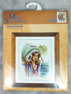 Lanarte Maria Van Scharrenburg Thai Woman Cross-Stitch kit New