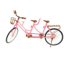 Tandem Bicycle Bike For Barbie & Kelly & Ken Doll Outdoor Accessories WK