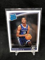 2018-19 Donruss Optic Jaren Jackson Jr Rated Rookie #188 Grizzlies RC E58