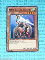 Mist Valley Falcon SDDL-EN012 Common Yu-Gi-Oh Card Mint 1st Edition New