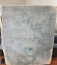 """Antique Book, """"New Geography Book Two,�?Frye-Atwood Geographical Series, 1920"""