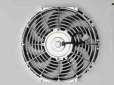 High Performance Chrome  Thermo Fan Electric Fan 120watt 12volt 12 inch