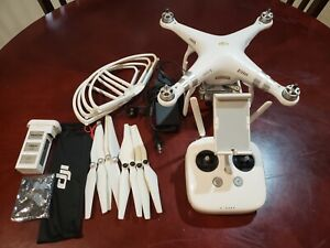 DJI Phantom 3 Professional Pro 4K Drone Bundle, gimbal does not work