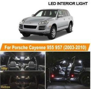 501 RGB Remote DEL Intérieur Ampoules Feux pour Porsche Boxster Cayenne