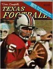 1971  Dave Campbell's Texas Football magazine C NAPPER