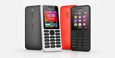 BRAND NEW GENUINE Nokia 130 Dual Sim Black or White  Factory unlocked