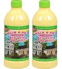 Nellie & Joe's Famous Key West Lime Juice 2 Bottle Pack