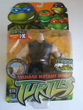 Teenage Mutant Ninja Turtles TMNT 02 2003 04 05 Hun Figure w/ Dragon Punch!