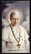 """santino-holy card""""""""ediz. FB n.160 S.PIO X PAPA"""