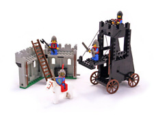 Lego Castle System 6061 Siege Tower Complete w/minifigures, no box/manual/string