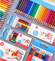 18 24 Journal Colouring Pencils Colours Artists Drawing Kids Adults Assorted