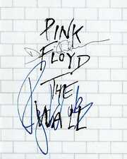 Pink Floyd signed the wall Waters Gilmour 8X10 photo picture poster autograph RP