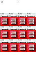 12 x 4 Pcs Pack Panasonic R6RZ-4BP AA Size Battery (48 Batteries) - Brand New