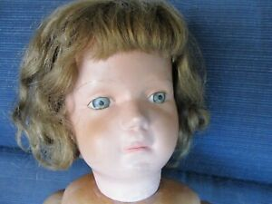 """20"""" Antique """"Smooth Eye"""" Schoenhut Doll"""