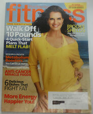 Fitness Magazine Brooke Shields Anti Cancer Foods October 2007 061915R
